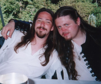 Ben and Neil at Ben and Jana's Wedding 2000