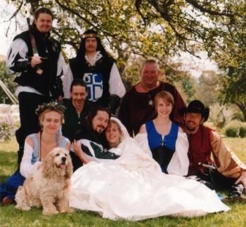 Group at Ben and Jana's Wedding 2000